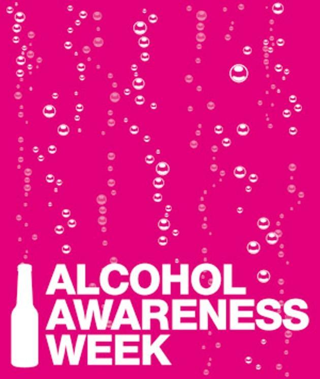 Alcohol awareness week logo