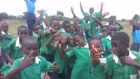 We are happy  deaf children at st. anothony