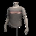 Male01 torso tshirt positivitym