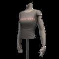 Female01 torso tshirt positivityf