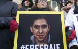 Raif badawi protest ensaf haidar