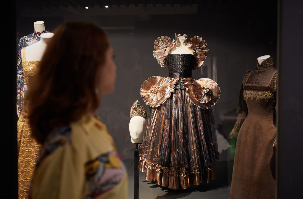 27. the vulgar fashion redefined. barbican art gallery. michael bowles getty images