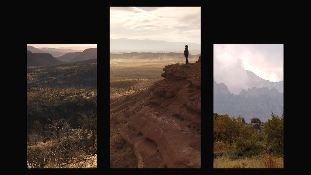 Bill viola  mary  2016  video triptych  executive producer  kira perov  photo courtesy blainsouthern 2