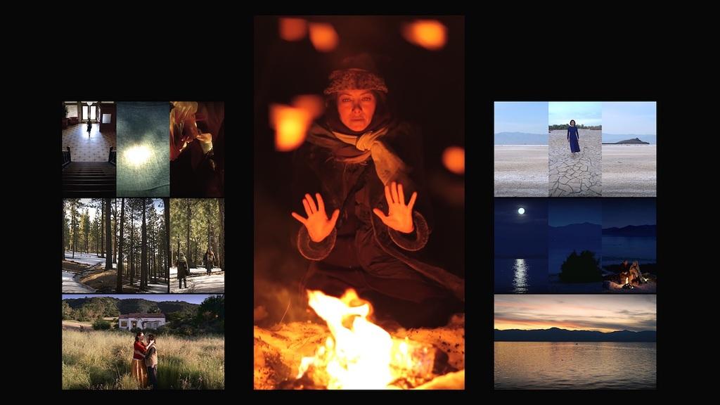 Bill viola  mary  2016  video triptych  executive producer  kira perov  photo courtesy blainsouthern 4