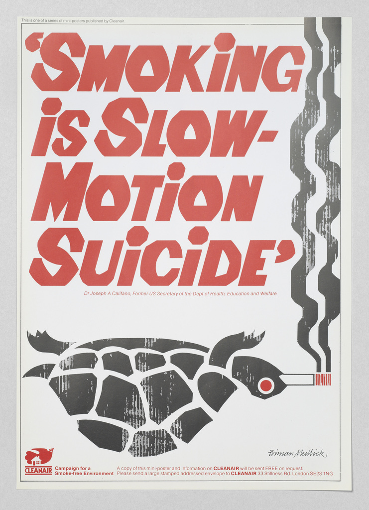 Smoking is slow motion suicide  biman mullick  cleanair