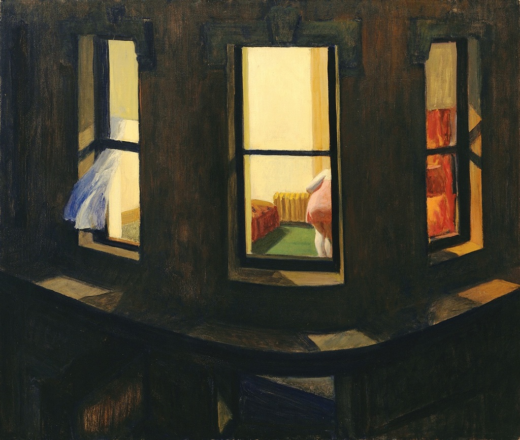 Hopper  night windows