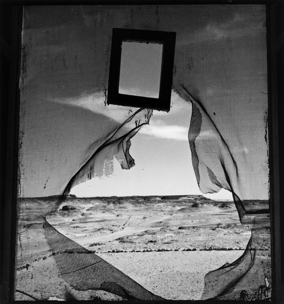 Portrait of space egypt 1937 e1905 by lee miller