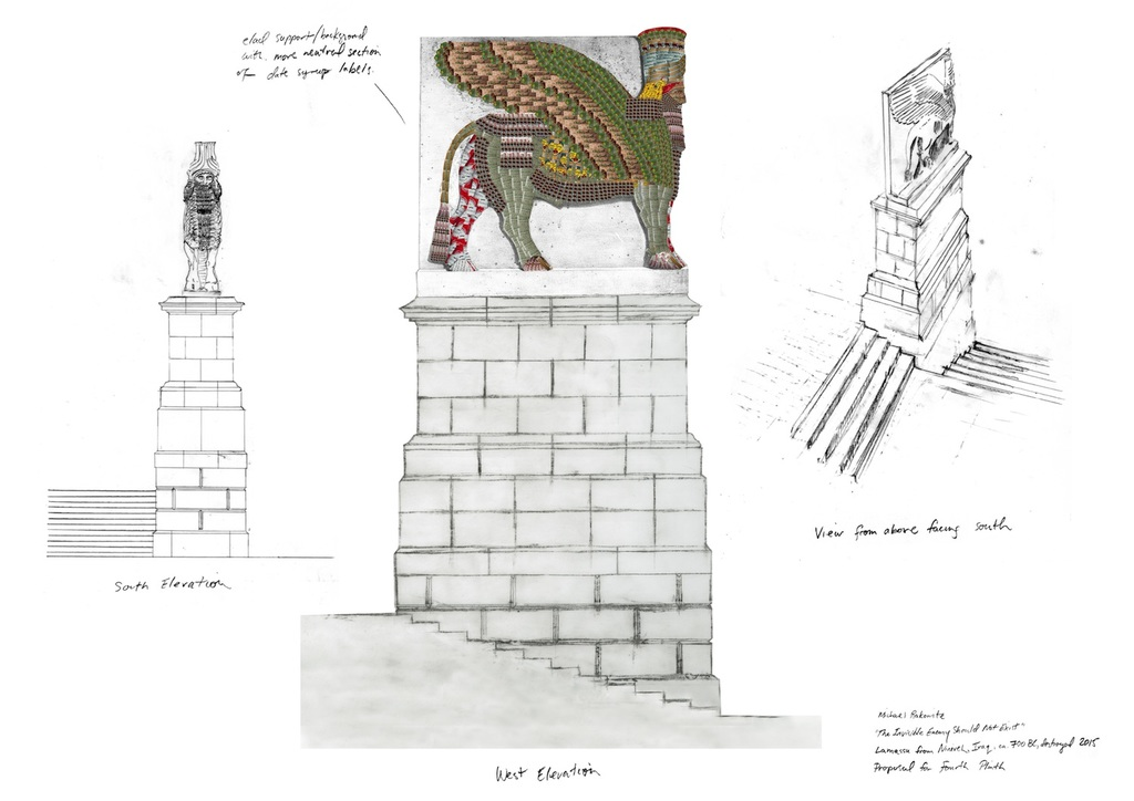 Rakowitz fourth plinth proposal page 1