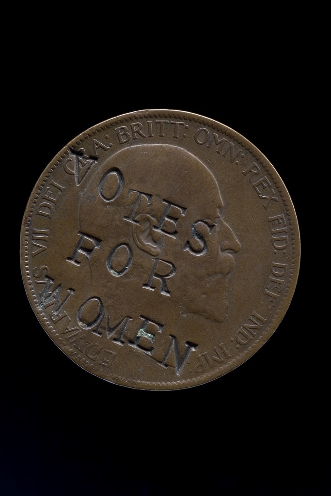 Votes for women penny