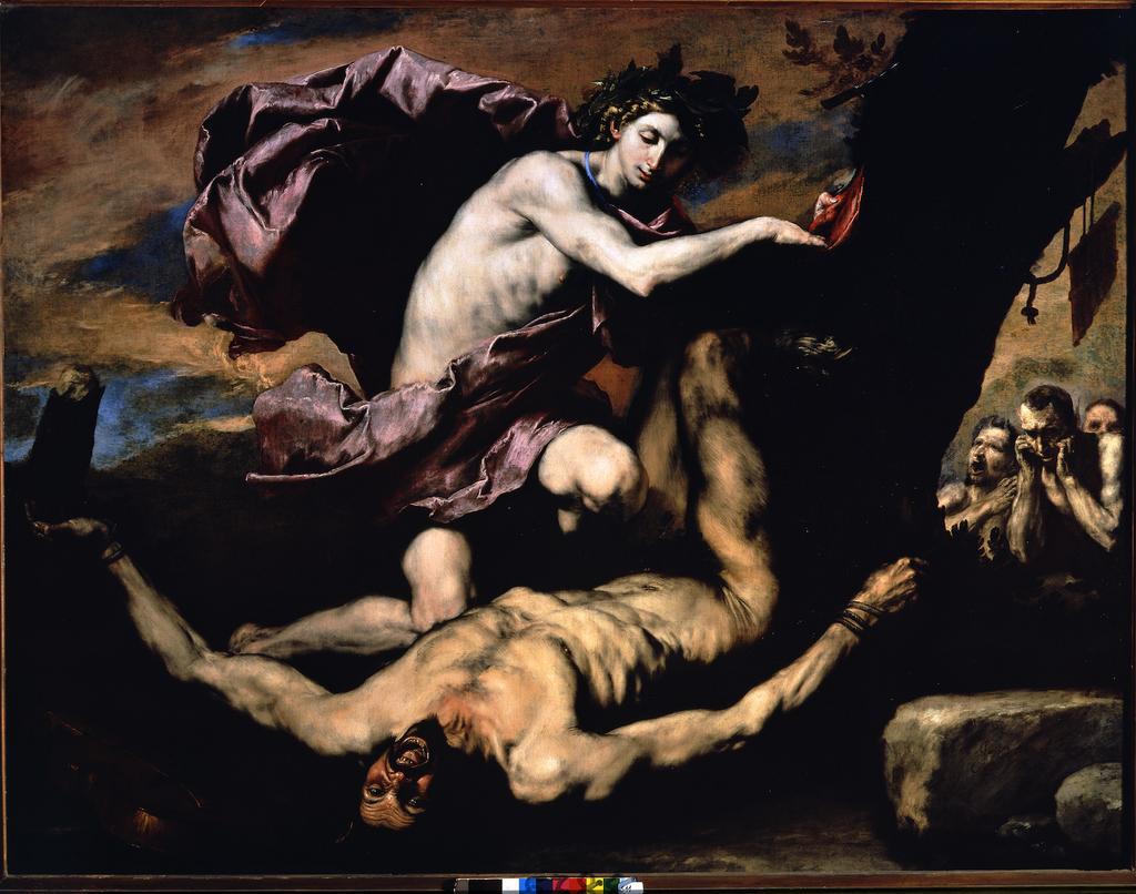Ribera   apollo and marsyas