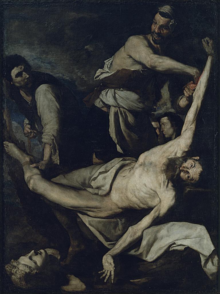 Ribera   martyrdom of st bartholomew %28catalunya%29