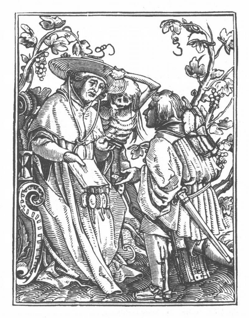Cardinal holbein danse macabre 9