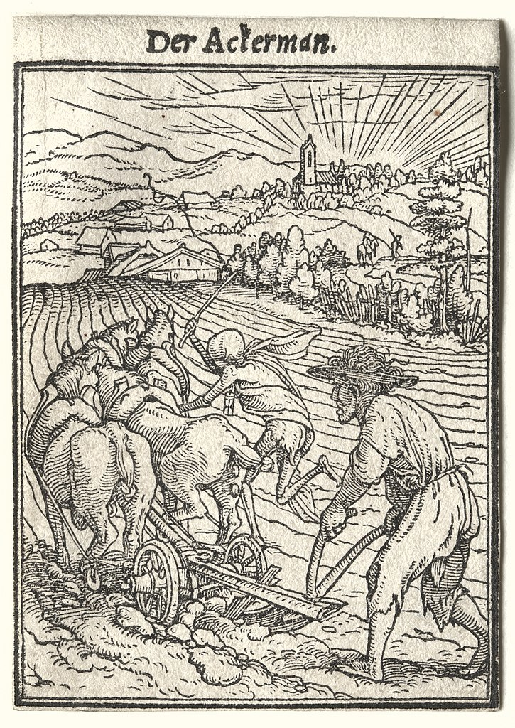 725px hans holbein   dance of death  the ploughman   1929.168   cleveland museum of art