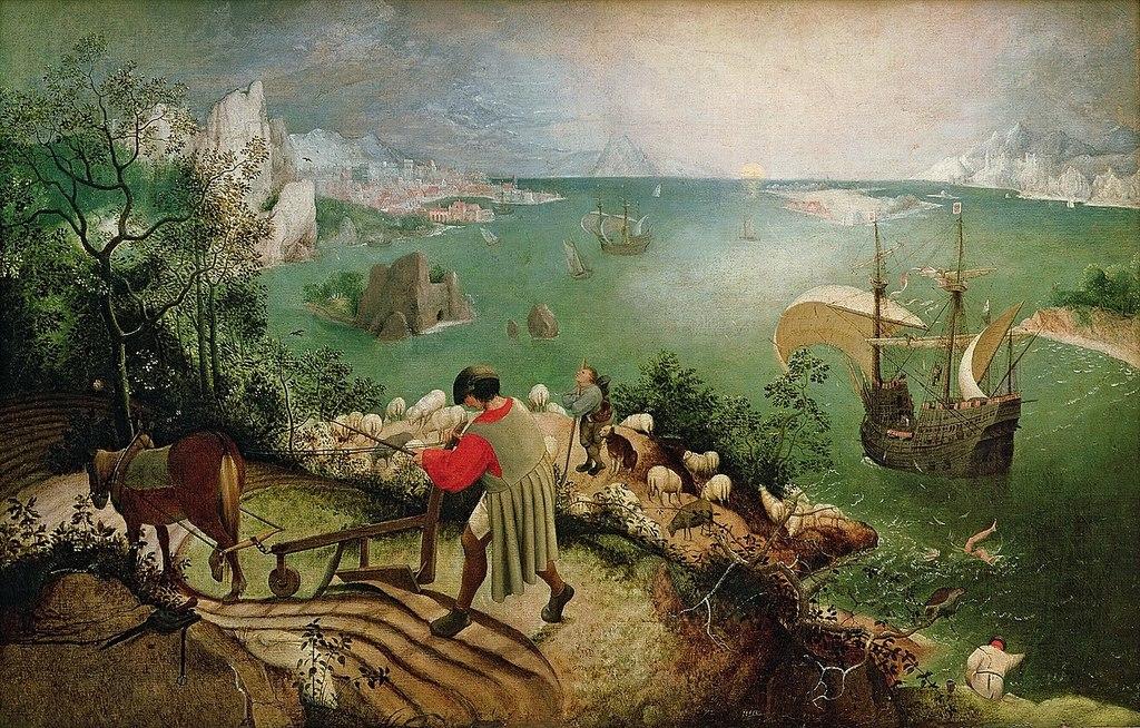 1280px pieter bruegel de oude   de val van icarus