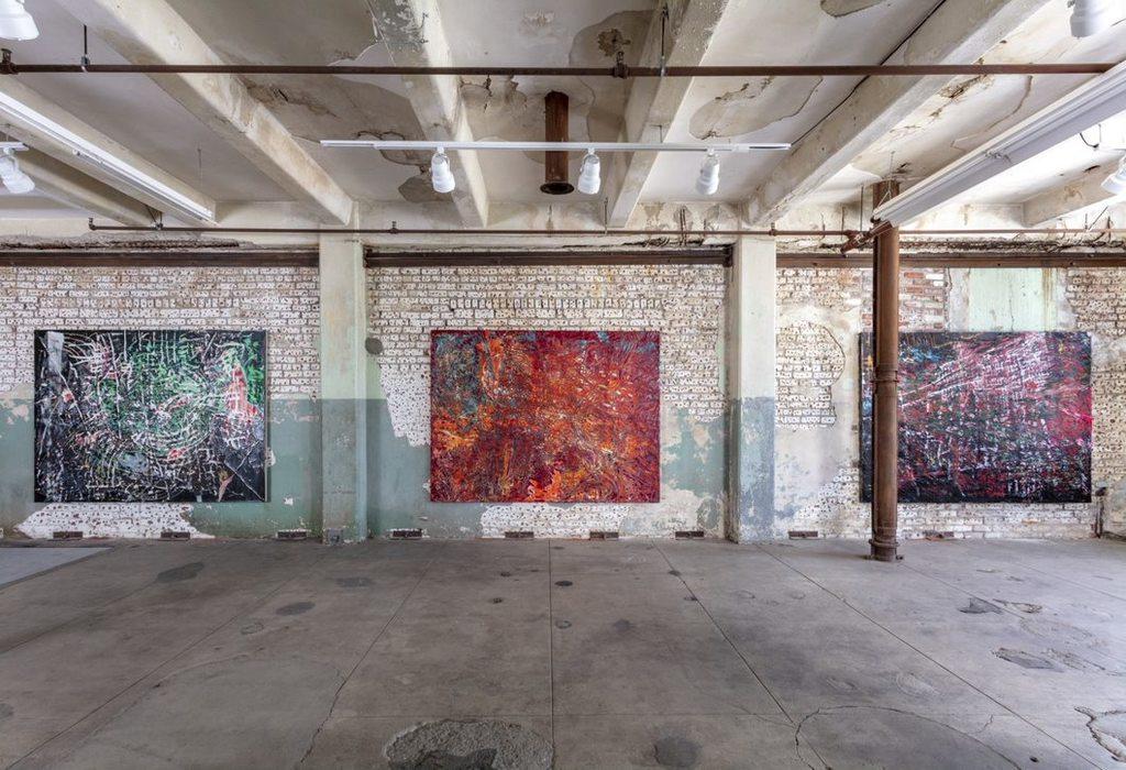 Mark bradford quarantine paintings sg