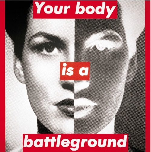 Untitled your body is a battleground 1989