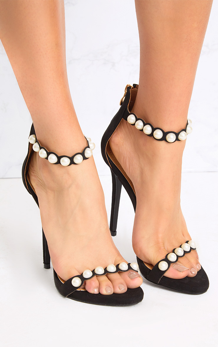 Pearl High Heel Shoes