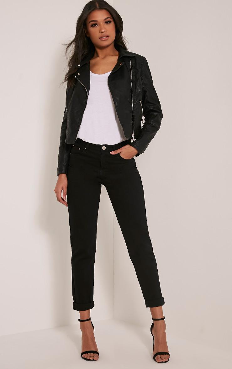 jeans boyfriend jeans coupe gar on femme. Black Bedroom Furniture Sets. Home Design Ideas