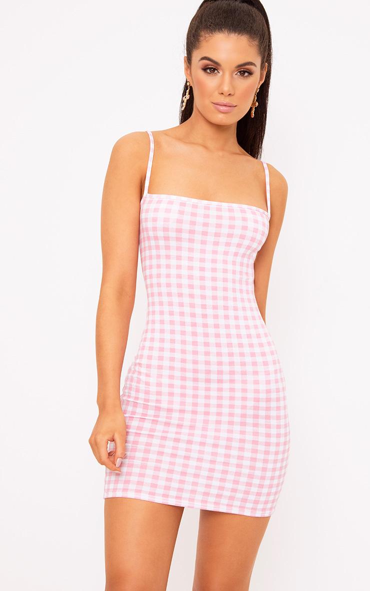 Gingham Gingham Dresses Tops Amp Shorts Prettylittlething