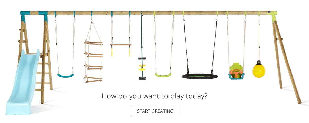 Create Your Own Plum Swing Set