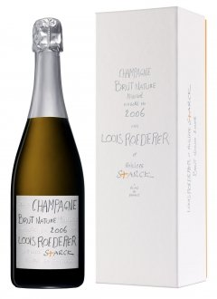 Roederer Brut Nature 2006 by Starck 2006 Bouteille 75CL Coffret