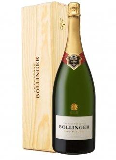 Bollinger Special Cuvée Non millésimé Jéroboham 300CL Caisse bois