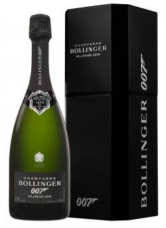 Bollinger James Bond 007 spectre 2009 2009 Bouteille 75CL Coffret