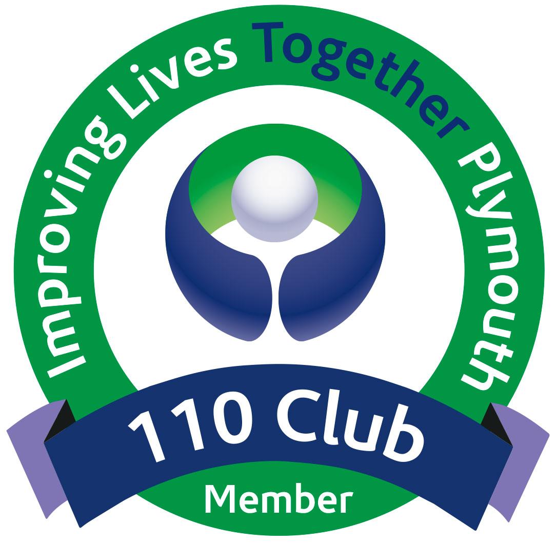 110 Club Logo
