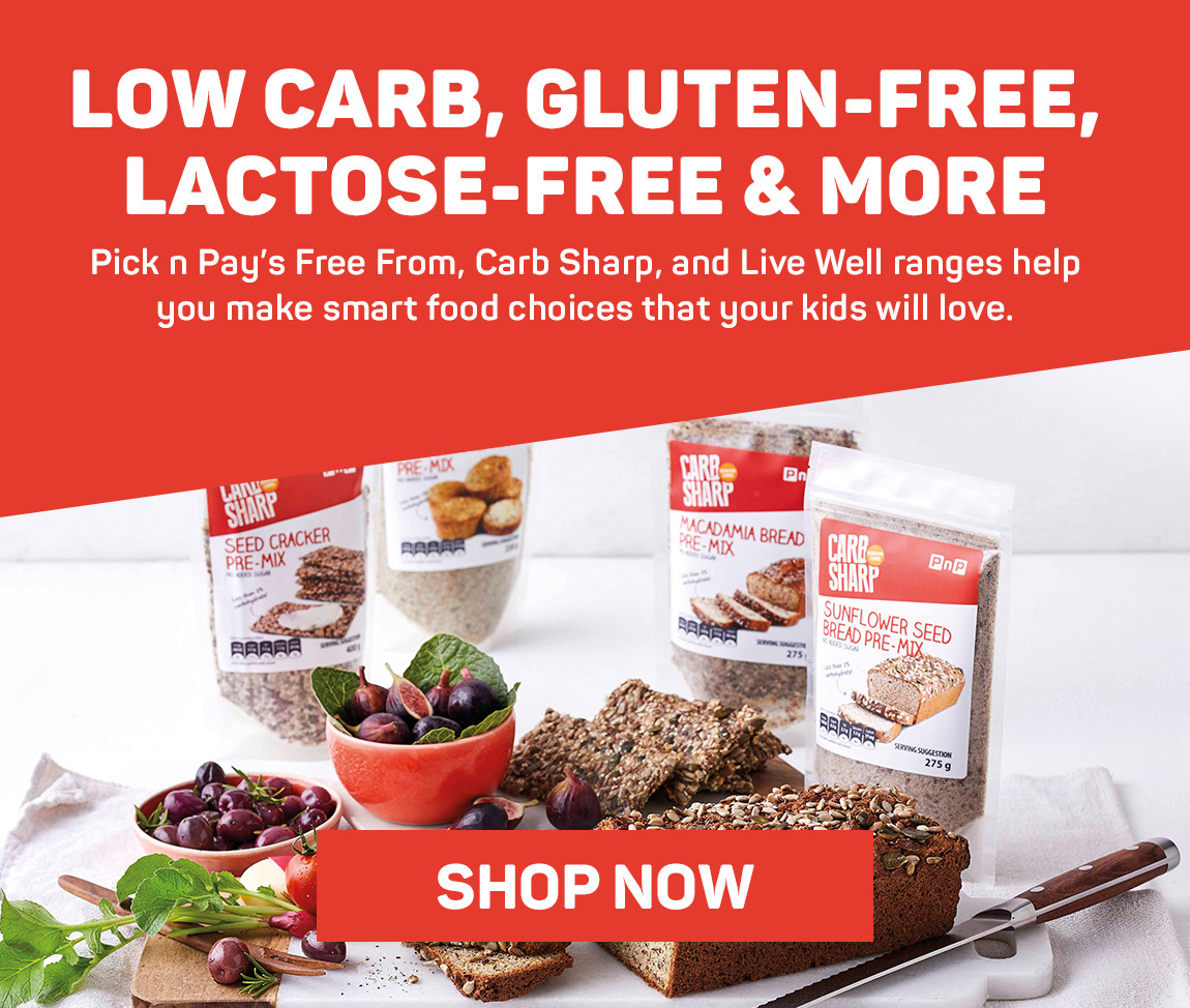 Low carb, gluten-free, lactose-free & more. SHop now