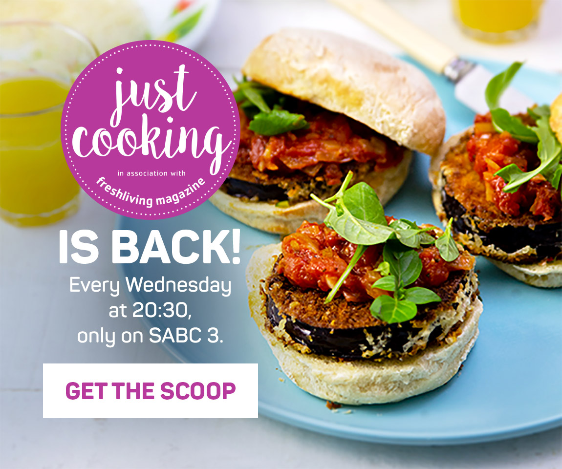 JUST COOKING IS BACK! Every Wednesday at 20:30, only on SABC 3.Sneak a peek >