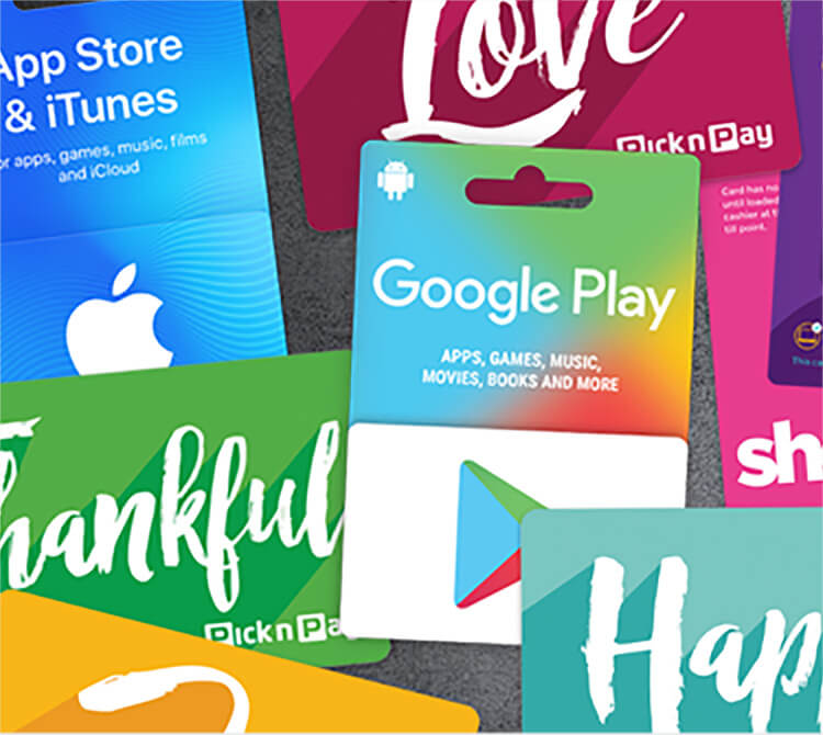Pick n Pay Gift Cards | Pick n Pay Online Shopping