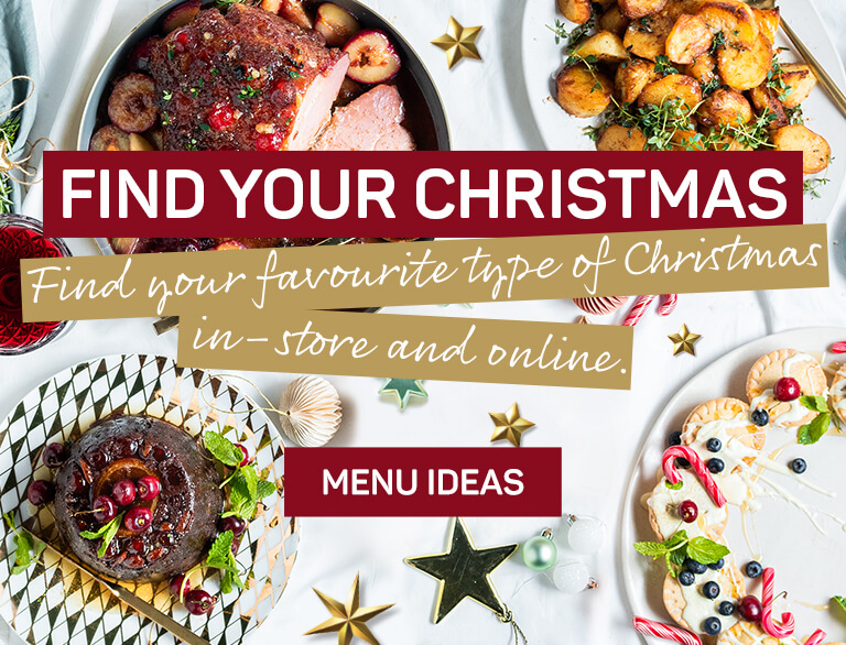 Find your Christmas menu ideas