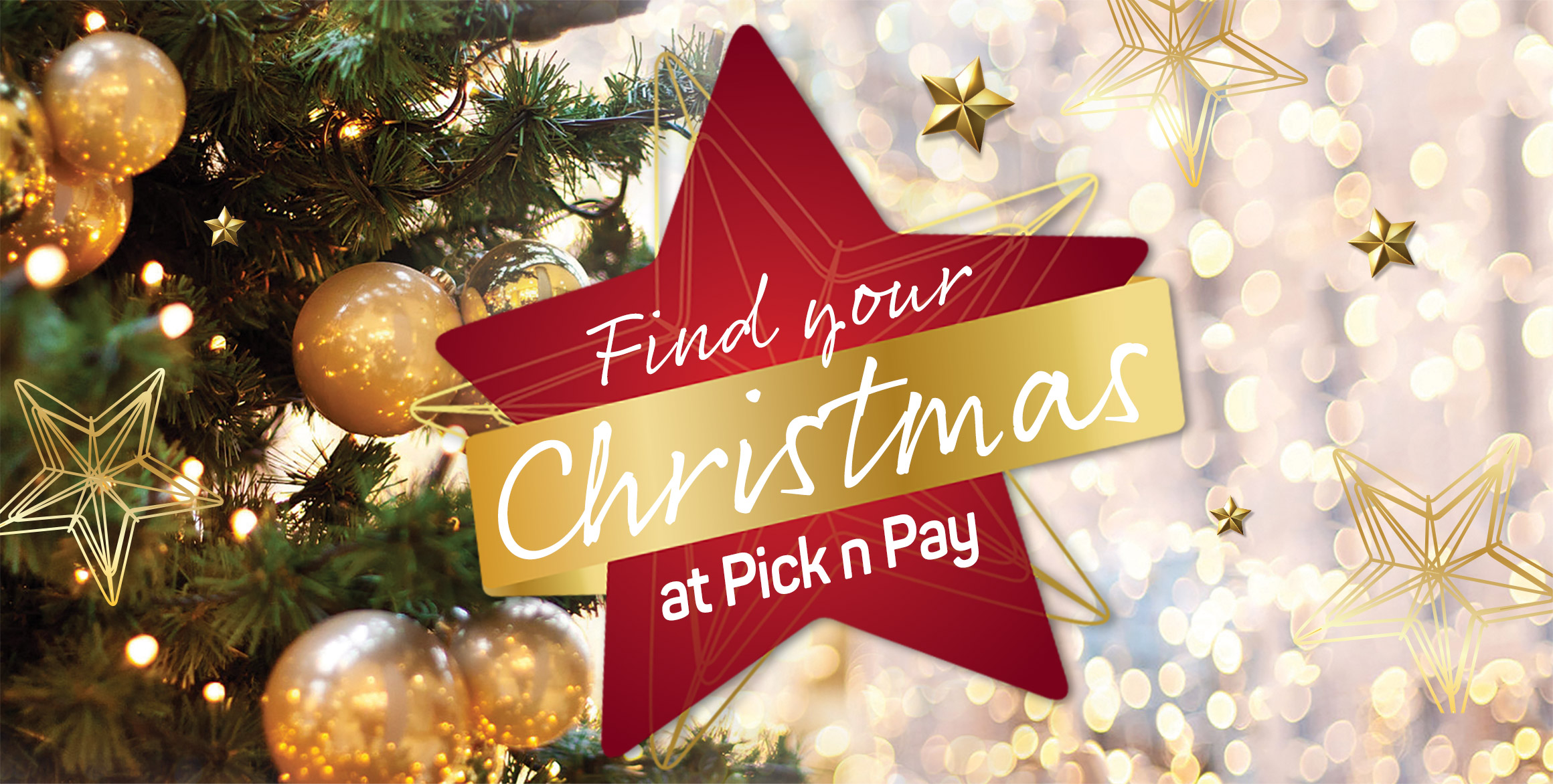 Find your Christmas at Pick n Pay
