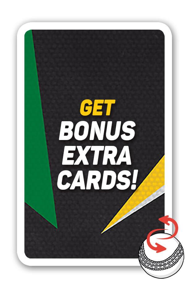 Get bonus extra cards!