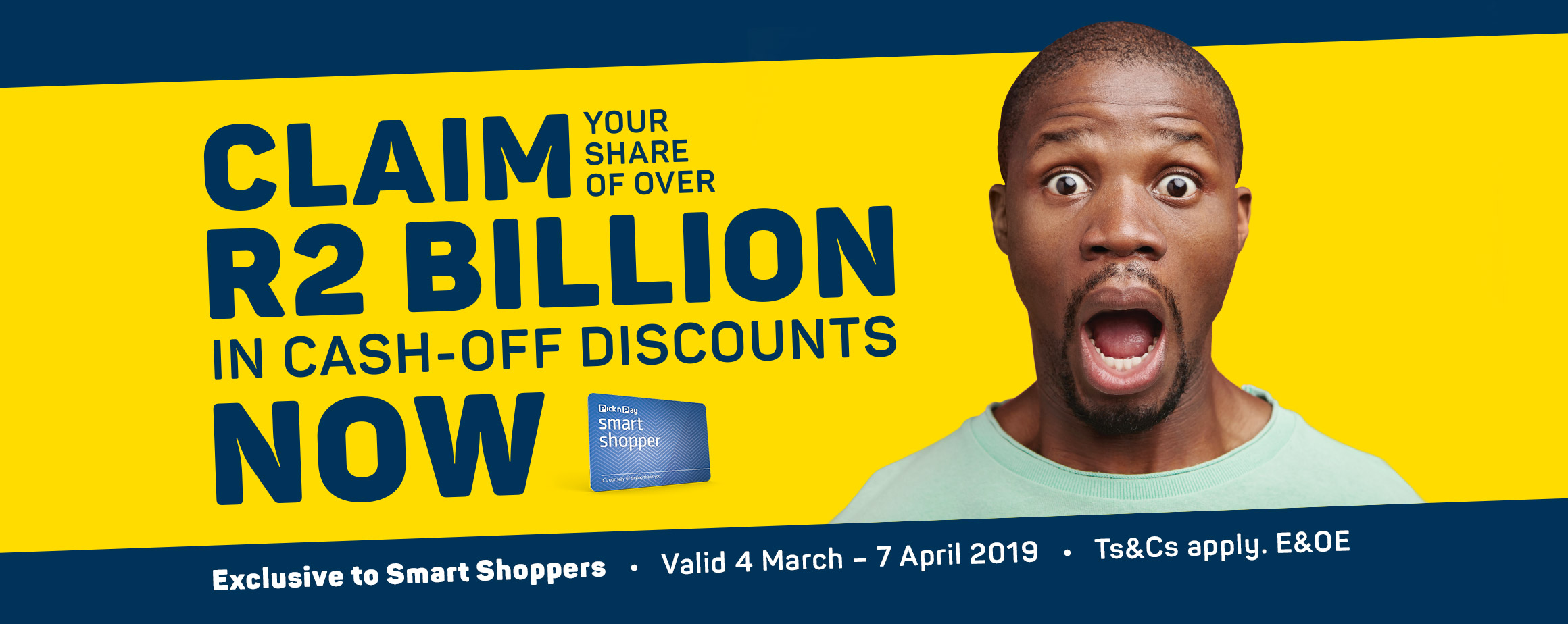 Claim your share of over R2 Billion un cash-off discounts now