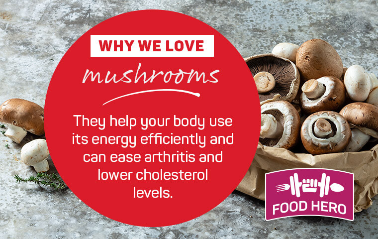 Why we love mushrooms