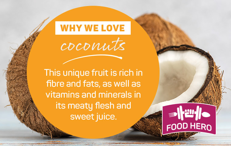 Why we love coconuts