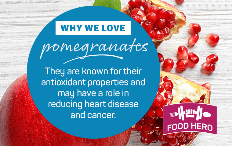 Why we love pomegranate