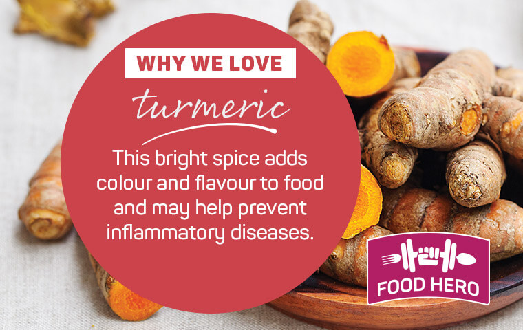 Why we love turmeric