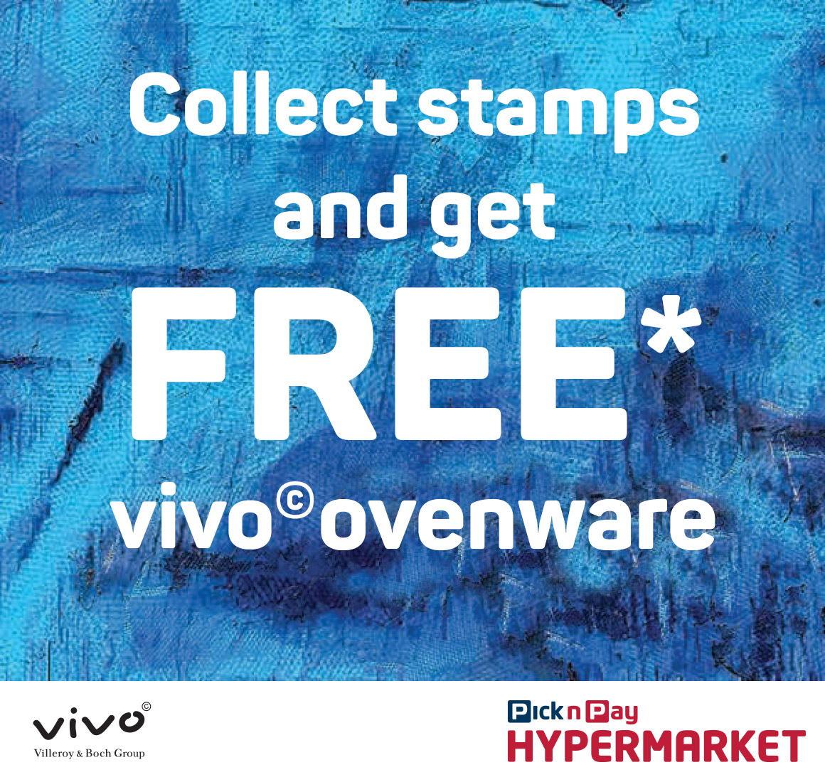 Collect stamps and get FREE* vivo Crockery