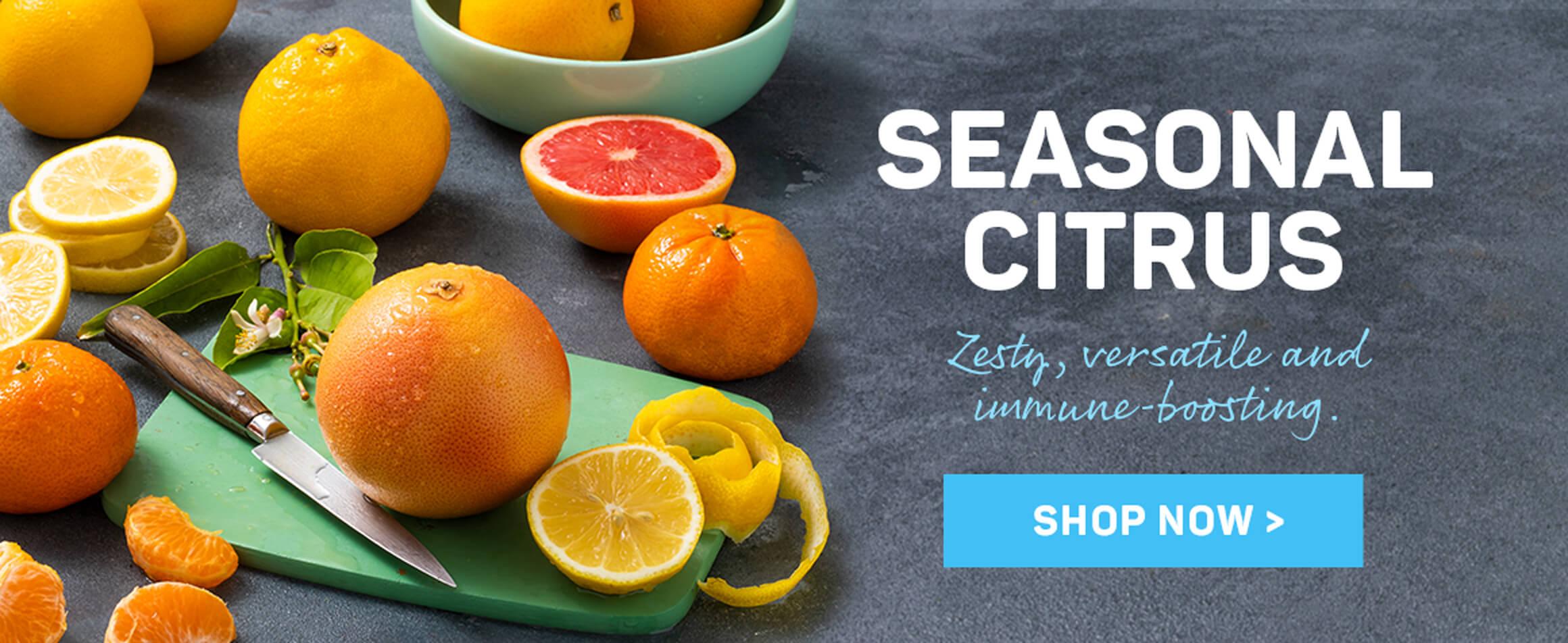 Seasonal citrus