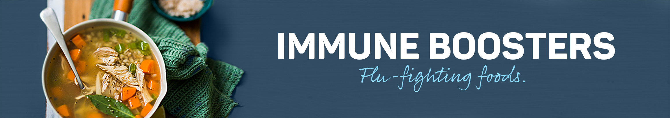 Immune boosters - Fly-fighting foods