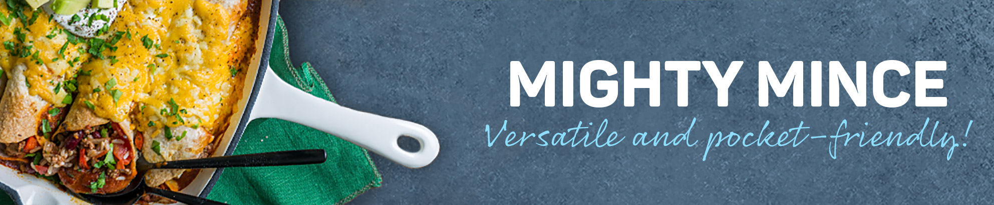 Mighty mince - Versatile and pocket-friendly!