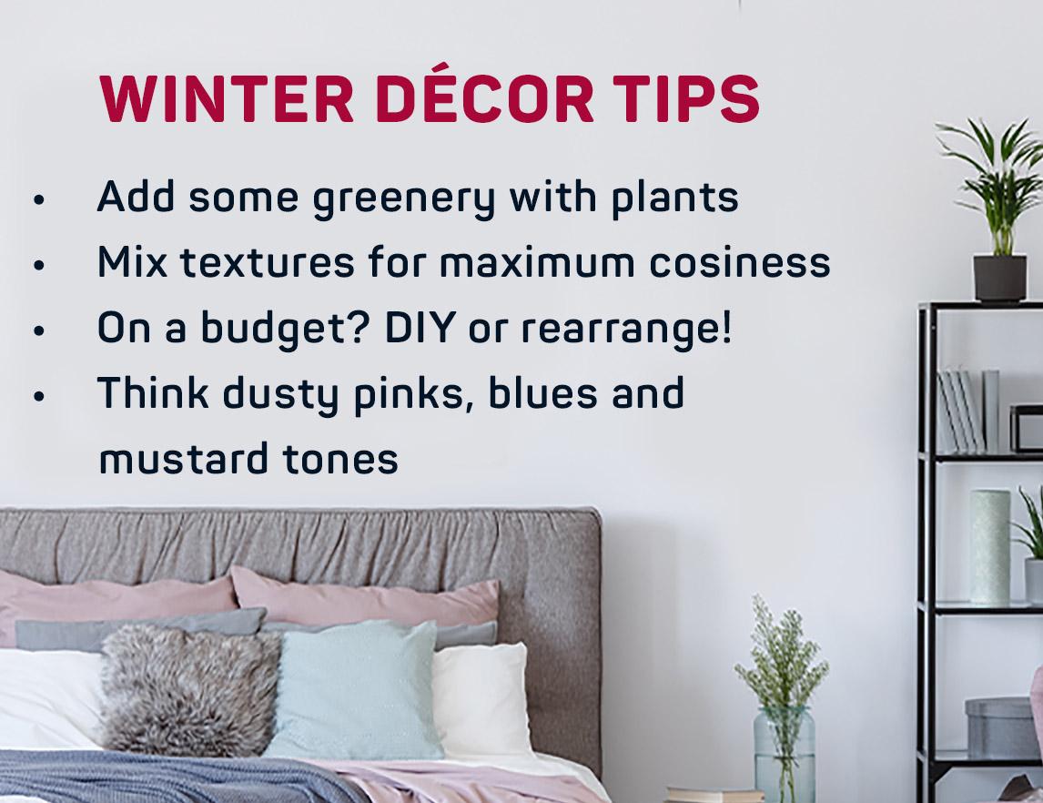Winter décor tips