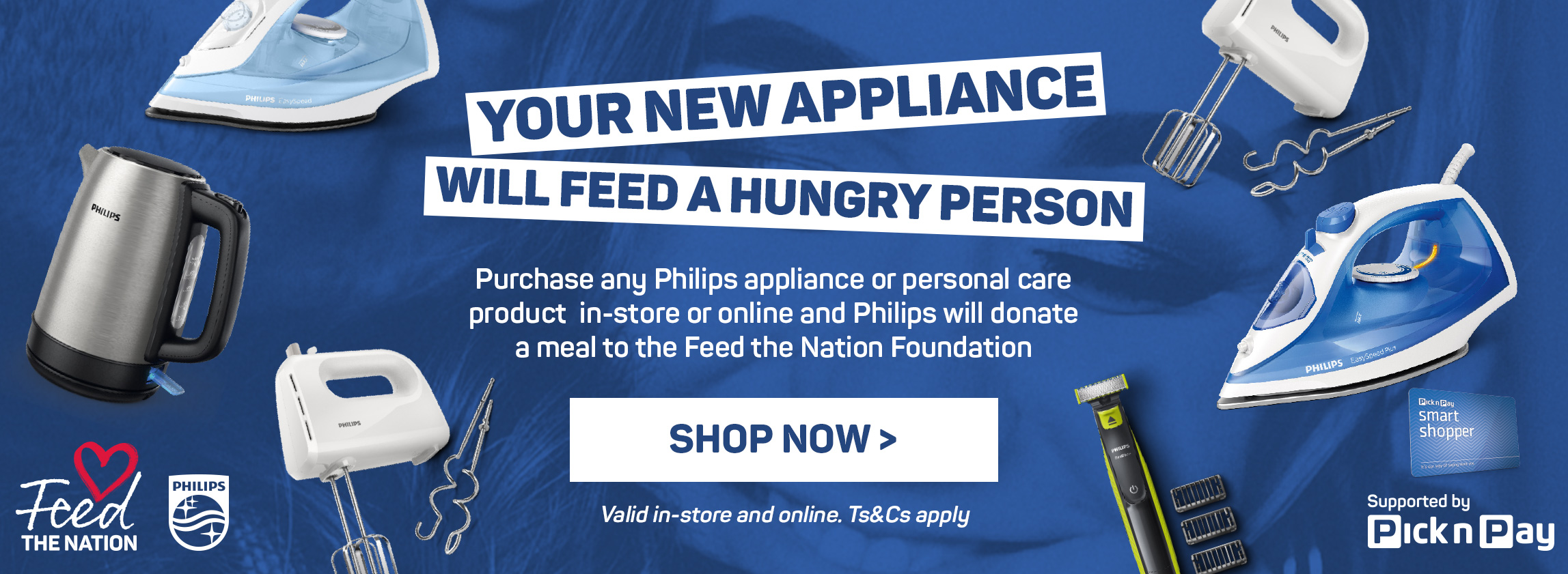 Your new appliance will feed a hungry person. Shop now