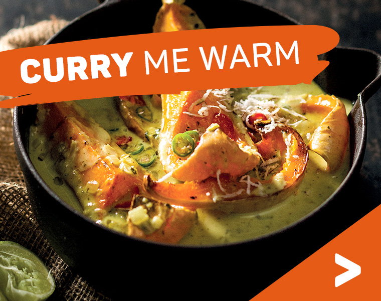 Curry me warm