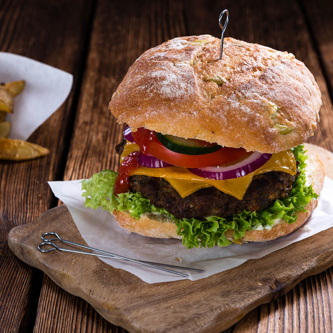 DeGrendel Wines Beef Burger