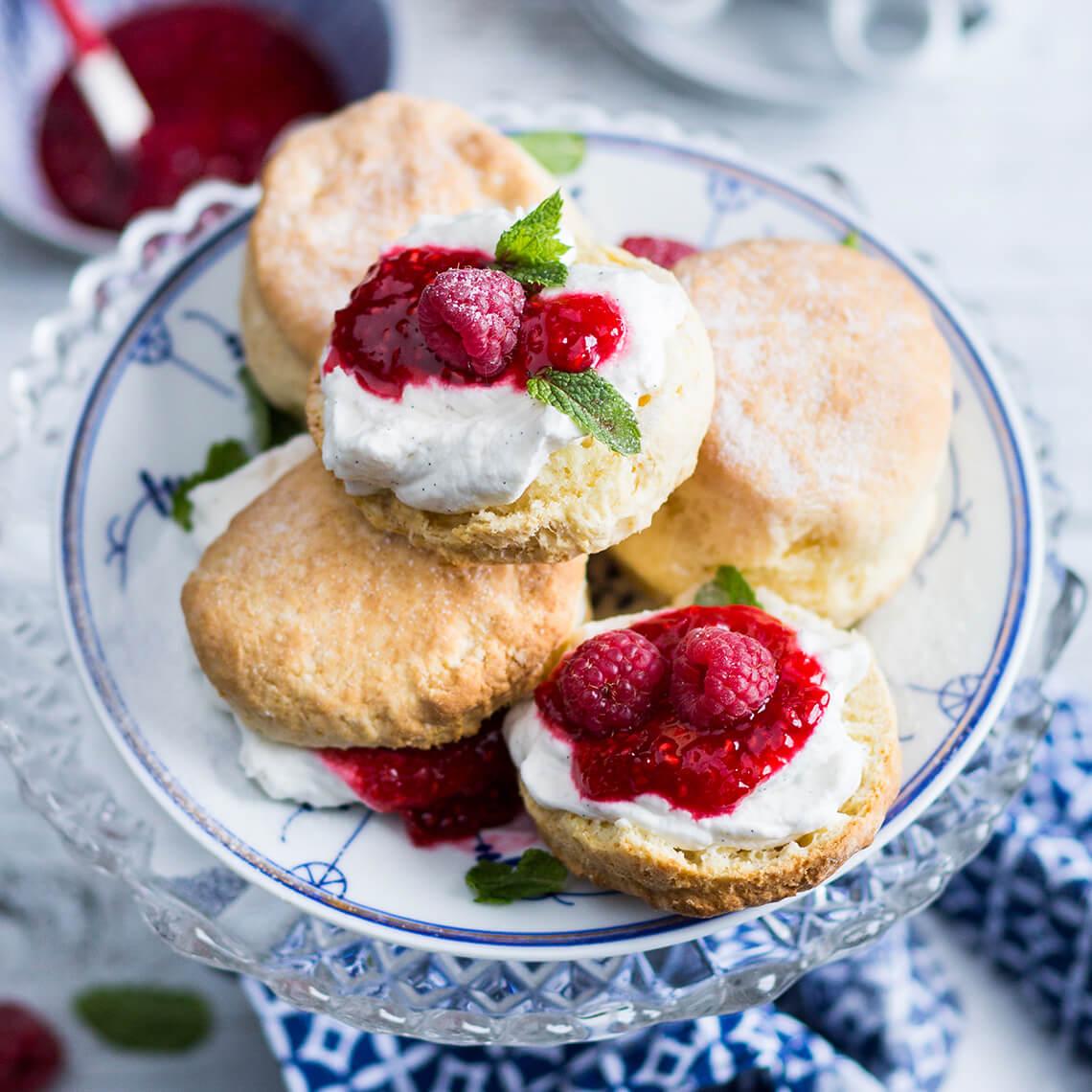 Classic butter scones
