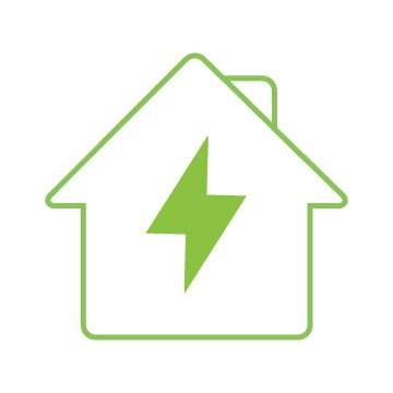 Charging An Electric Car At Home Graphic