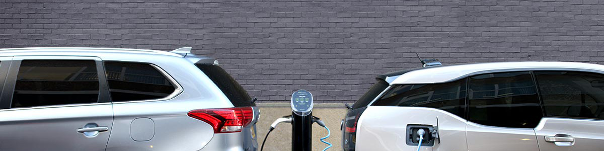 POD Point MIS Header - Outlander and BMW i3 charging on Twin Unit